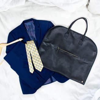 bda311be8ef1 MAHI Leather Classic Black Leather Garment Suit Carrier