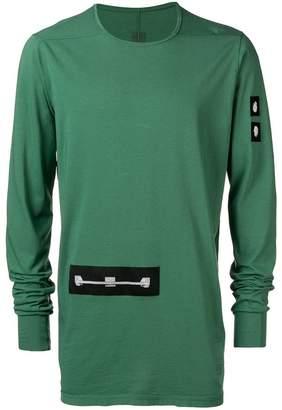 Rick Owens appliqué patch T-shirt