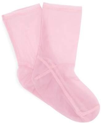 Darner Socks - Mesh Ankle Socks - Womens - Pink