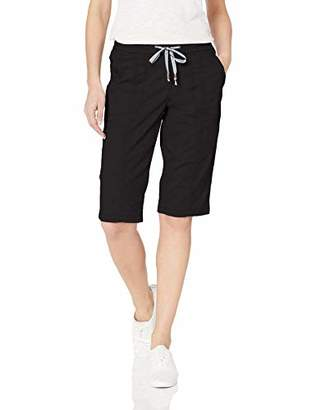 Lee Women's Petite Flex-to-Go Relaxed Fit Pull-On Utility Capri Pant