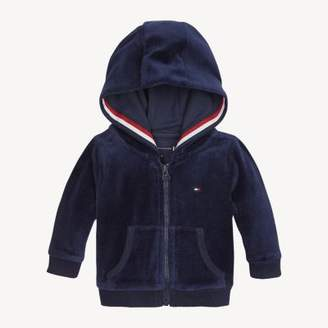 Tommy Hilfiger Baby Velour Hoody