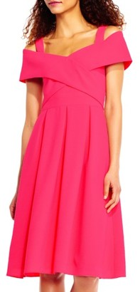 Women's Adrianna Papell Off The Shoulder Dress $150 thestylecure.com