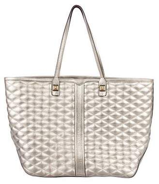 Rebecca Minkoff Quilted Leather Tote