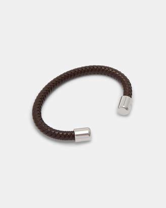 Ted Baker KARR Herringbone leather bangle