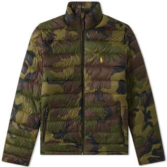 Polo Ralph Lauren Camo Lightweight Down Jacket