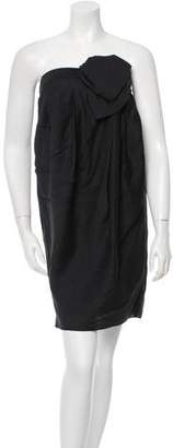 3.1 Phillip Lim Strapless Tulip Dress