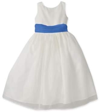 Us Angels Sleeveless Organza Dress