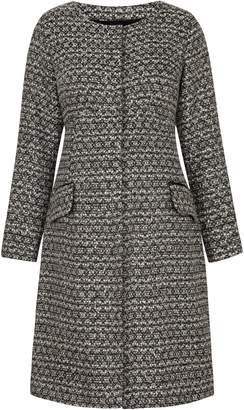 Tiffany & Co. Rose Verity Boucle Maternity Coat
