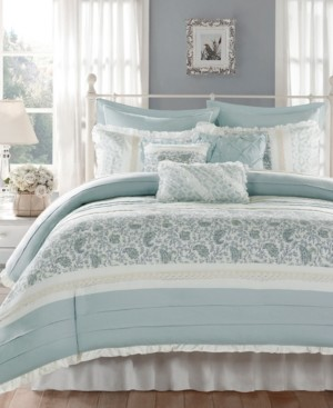 Madison Home USA Dawn 9-Pc. King Duvet Cover Set Bedding