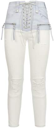 Unravel Hybrid Multi-Textured Trousers