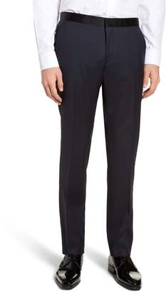 BOSS Gilan CYL Flat Front Wool Trousers
