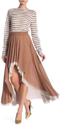 Petit Pois Hi-Lo Midi Skirt