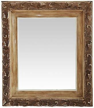 One Kings Lane Vintage Handsome Victorian Framed Mirror - Fleur de Lex Antiques