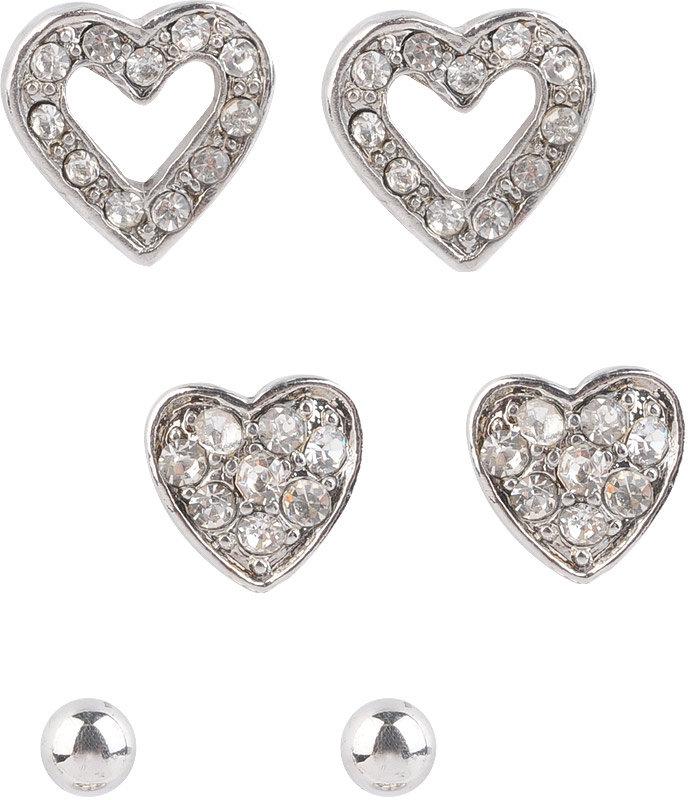 Heart Earring Set