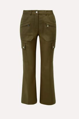 Michael Kors Cotton-twill Cargo Pants - Army green