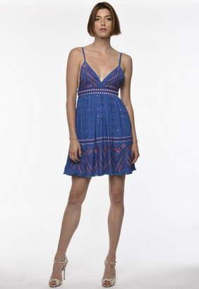 Karina Grimaldi Grace Embellished Mini Dress