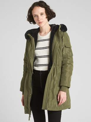Gap ColdControl Faux-Fur Parka