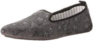 Acorn Women's Novella Flats, Charcoal Floral
