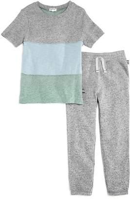 Splendid Boys' Color-Blocked Tee & Jogger Pants Set - Little Kid