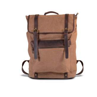 EAZO - Extra Large Canvas Backpack Brown