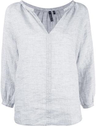 Woolrich v-neck blouse $112.77 thestylecure.com
