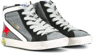 Golden Goose Kids 'Slide' hi-top sneakers