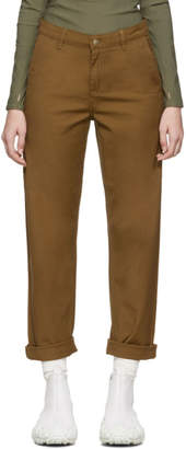 Carhartt Work In Progress Brown Pierce Pants