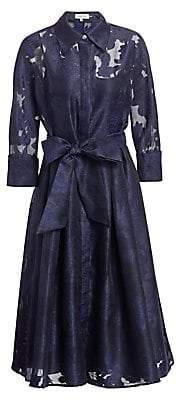 Teri Jon by Rickie Freeman Women's Skirt Framed Dress