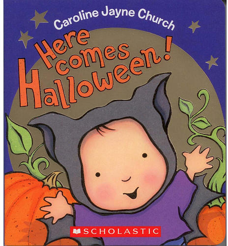 Scholastic Here Comes Halloween! Board Book