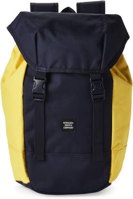 Herschel Peacoat & Cyber Yellow Iona Laptop Backpack
