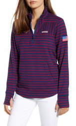 Vineyard Vines USA Mix Stripe Pullover