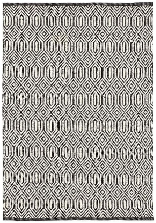 Geometric Flatweave Rug