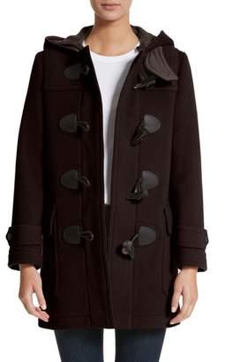Women's Burberry Mersey Wool Blend Duffle Coat