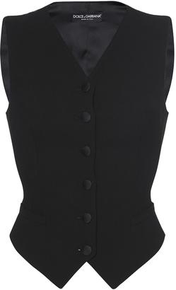 Dolce & Gabbana Tailored Suit Vest $945 thestylecure.com