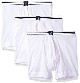 Nautica Men's 3-Pack Cotton Boxer Brief