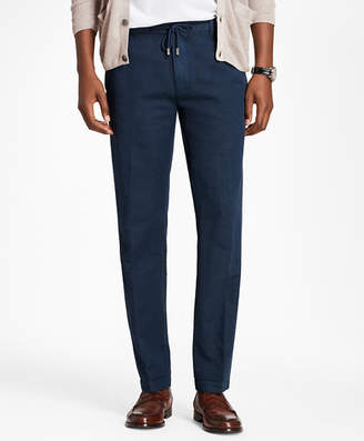 Brooks Brothers Linen and Cotton Drawstring Pants