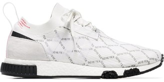 adidas white GTX racer NMD trainers