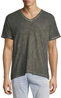 True Religion Faded Slub V-Neck T-Shirt