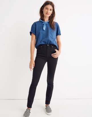 "Madewell Tall 10"" High-Rise Skinny Jeans in Johnny Wash: Comfort Stretch Edition"
