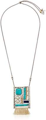 Lucky Brand Womens Stationed Pendant Necklace