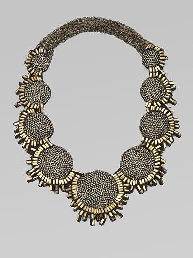 Vera Wang Multi-Stone Bib Necklace