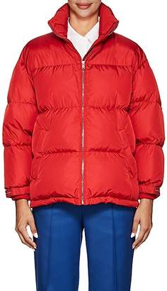Prada Women's Down Puffer Coat - Red