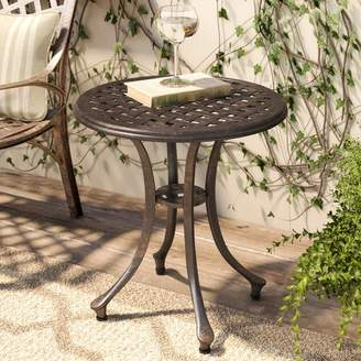 Charlton Home Kastner Outdoor Metal Side Table