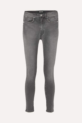 Adaptation Mid-rise Skinny Jeans - Charcoal