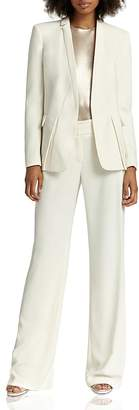 HALSTON HERITAGE Narrow Lapel Suit Jacket $475 thestylecure.com