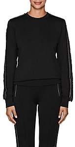 Area Women's Edie Embellished Sweatshirt - Black