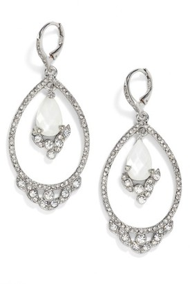 Women's Jenny Packham Orbital Drop Earrings $75 thestylecure.com