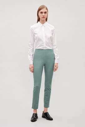 Cos TROUSERS WITH ANKLE ZIPS