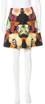 Josh Goot Silk Mini Skirt