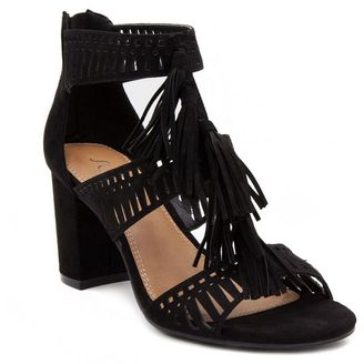 Sugar Rocket Women's Block Heel Sandals $69.99 thestylecure.com